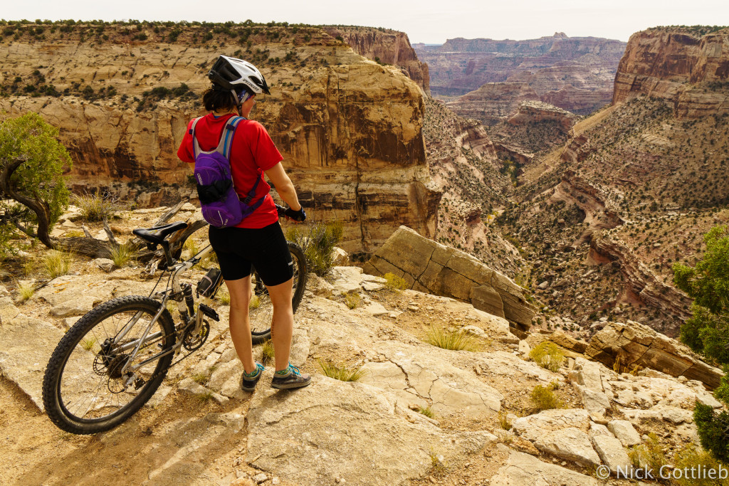 The views from the trail are like this for the entire 15 mile singletrack.