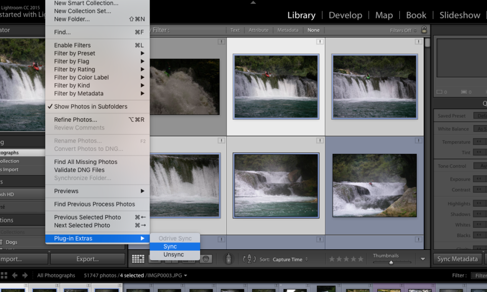 On-Demand Cloud Storage with Lightroom and Odrive